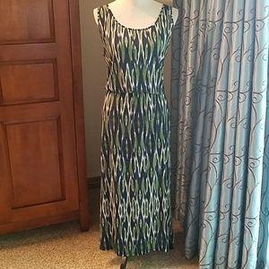 Michael Michael Kors ikat watercolor dress